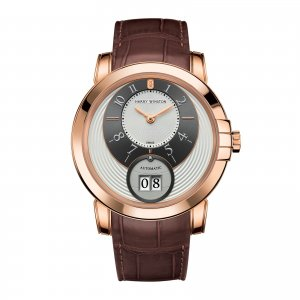 Harry Winston [NEW] Midnight Big Date automatic 18K rose gold MIDABD42RR001