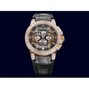 HARRY WINSTON [NEW] OCEAN CHRONOGRAPH 44mm OCEACH44RR003 (Retail:US$118,800)