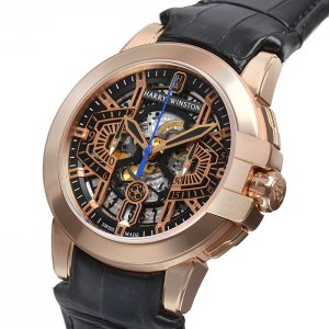 Harry Winston [NEW] Ocean Chronograph Automatic 44mm OCEACH44RR001 (Retail:US$40,500)