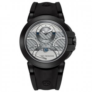 Harry Winston [NEW] Ocean Triple Retrograde Chronograph automatic zalium black DLC OCEACT44ZZ006