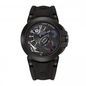 Harry Winston [NEW] Project Z6 Black Edition limited edition manual zalium black OCEMAL44ZZ004