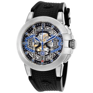 Harry Winston [NEW] Project Z9 limited edition automatic zalium timepiece black dark dial OCEACH44ZZ004