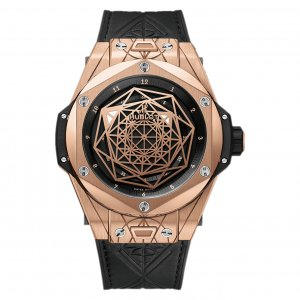 Hublot [NEW][LIMITED 100][全新限量100支] Big Bang Sang Bleu King Gold 415.OX.1118.VR.MXM17 (Retail:EUR 39400)