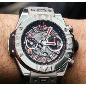 Hublot [NEW][LIMITED 200] Big Bang UNICO 45mm Mens 411.sx.1170.lr.wpt15 (Retail:CHF 21900)