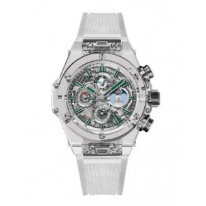 HUBLOT [NEW][LIMITED] WHITE SAPPHIRE PERPETUAL CALENDAR (Retail:US$120,000)