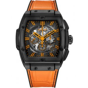 Hublot [NEW] Spirit Of Big Bang All Black Orange Boutique Exclusive 601.CO.0190.LR (Retail:EUR 26300)