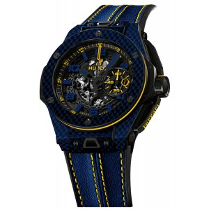 Hublot 全新 Big Bang UNICO Ferrari 45mm Brazil Edition 401.QL.0199.VR.FBR15 限量50支 (Retail:CHF 27,900)