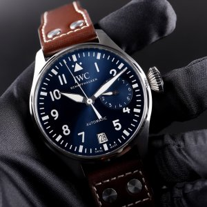 IWC [NEW] Big Pilot Le Petit Prince Automatic Blue Dial Mens IW501002