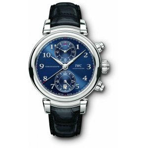 IWC NEW Da Vinci Chronograph Edition ''Laureus Sport for Good Foundation'' IW393402 LTD 1500 (Retail:US$12,700)