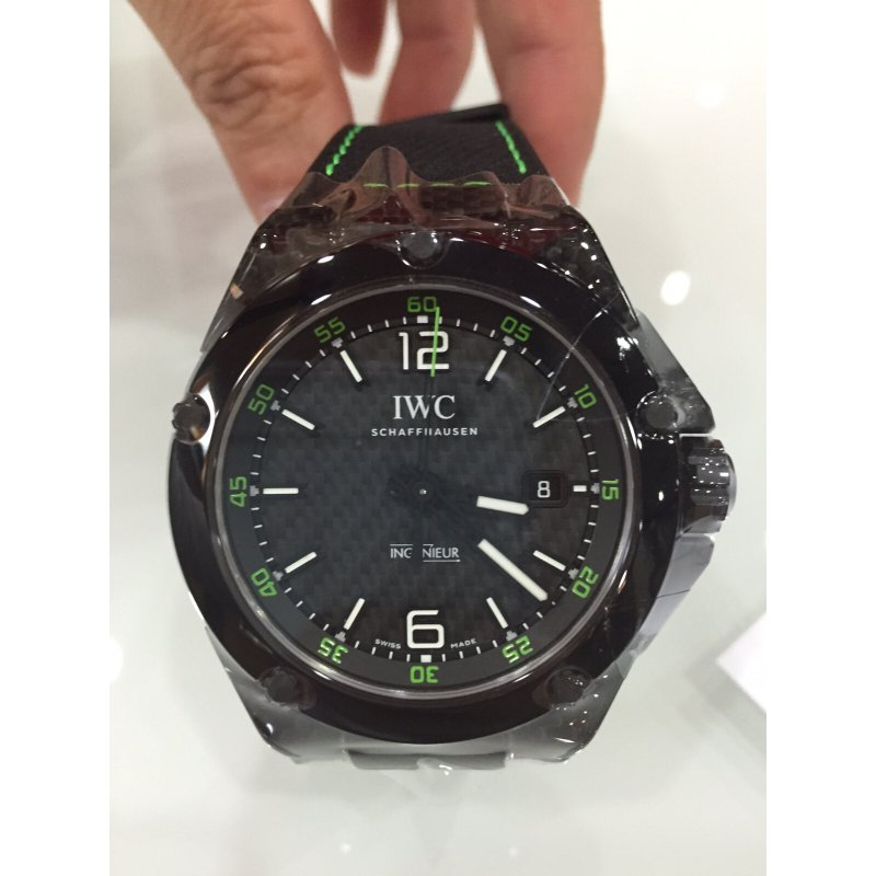 timeless design a9cdd 36430 All Watches : IWC [NEW] IW322404 Ingenieur Carbon Dial ...