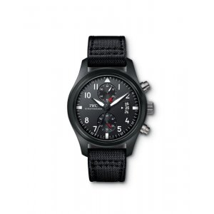 IWC [NEW] IW388001 Pilot's Chronograph TOP GUN Mens (List Price:HK$94,000)