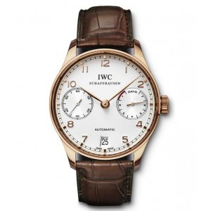 IWC [NEW] IW500113 Portuguese 7 Days Rose Gold (Retail:HK$190,000)