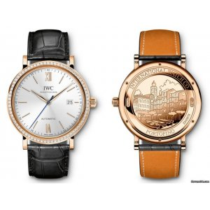 IWC [NEW] Portofino Automatic Diamonds Red Gold IW356515 (HK Retail Price: $144,800)