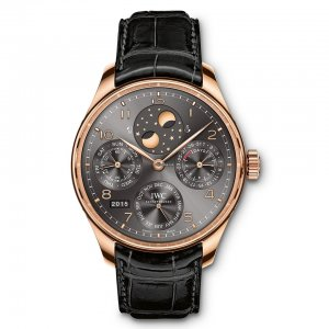 IWC [NEW] Portugieser Perpetual Calendar Perpetual Double Moonphase Mens IW503404 (Retail:HK$303,000)