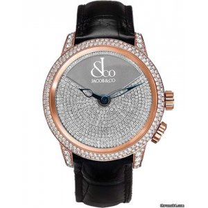 Jacob & Co. [NEW] Limited Edition Rose Gold Caligula Watch (Retail:US$138,000)