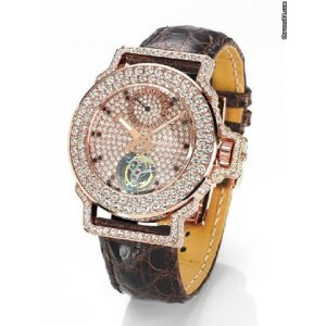 Jacob & Co. [NEW] Limited Edition Rose Gold Diamond Tourbillon Watch (Retail:US$195,000)
