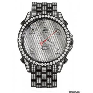 Jacob & Company [NEW] Five Time Zone Diamond Watch JC-53BLDCB