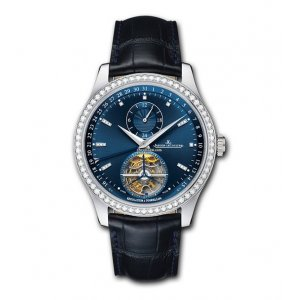 JAEGER LECOULTRE [NEW] 42mm Master Tourbillon Blue Dial Q1563580 (Retail:US$92,000)