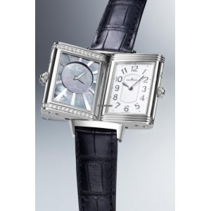 Jaeger-LeCoultre [NEW] Grande Reverso Lady Ultra Thin Duetto Duo Q3308421 (Retail:US$11,600)