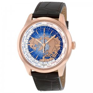 Jaeger LeCoultre [NEW] Q8102520 Geophysic Universal Time 18K Pink Gold Automatic Men's Watch (Retail:HK$189,000)