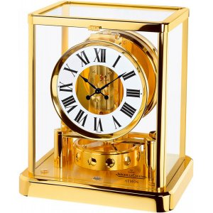 JAEGER LECOULTRE [全新] Q5101202 Atmos Gold Desk Clock (Retail:US$6,600)
