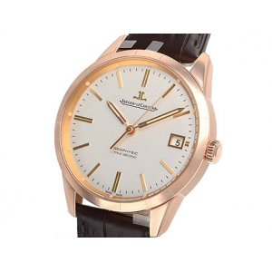 Jaeger-LeCoultre [全新] Q8012520 Geophysic Rose Gold Strap Watch Date (Retail:US 17,500)