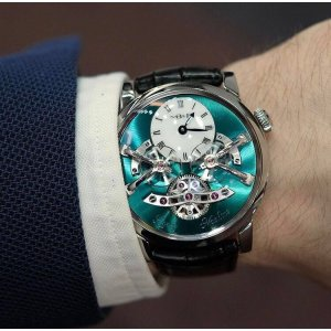 Mb&f [NEW][LIMITED 18] Legacy Machine N2 Titanium LM2 Ti 02.TL.G (Retail:US$138,000)