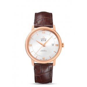 Omega [NEW] De Ville Co-Axial 39.5MM 18kt Rose Gold 424.53.40.20.02.001 (List Price: HK$77,200)