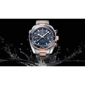 Omega NEW Men's 21520465103001 Seamaster Planet Ocean Chronogra