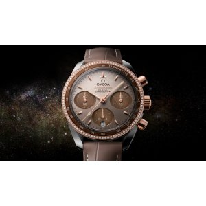 Omega [NEW] Speedmaster Co-Axial Chronograph 38mm Ladies 324.28.38.50.02.002