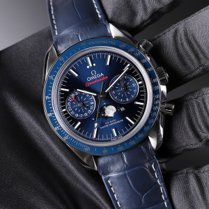 Omega [NEW] Speedmaster Moonphase Chronograph 304.33.44.52.03.001