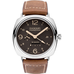 Panerai [NEW][LIMITED 300] PAM 391 Contemporary Collection Radiomir 10 Days GMT (Retail:US$13,000)