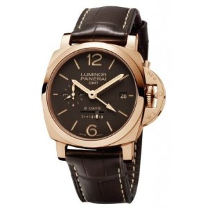 Panerai [NEW] Luminor 1950 8 Days GMT Rose Gold PAM 576 (List Price: HK$217,400)
