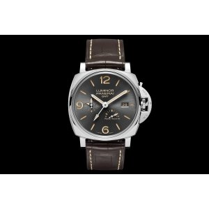 Panerai [NEW] Luminor Due 3 Days GMT Power Reserve Automatic Acciaio PAM 944