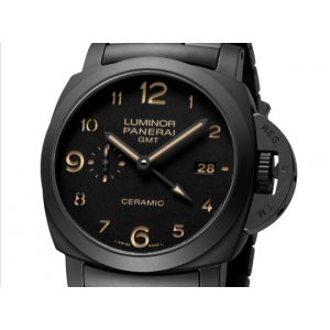 "Panerai [NEW] PAM 438 ""Tuttonero"" GMT Ceramic Watch (Retail:HK$111,500)"