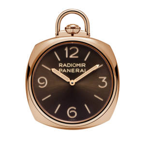 Panerai NEW PAM 447 Panerai Pocket Watch 3 Days Oro Rosso LIMITED EDITION 50