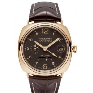 Panerai [NEW] PAM 497 Radiomir 10 Days GMT Oro Rosso (Retail:HK$272,800)