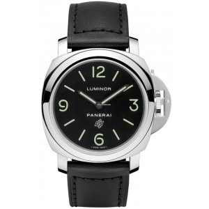 Panerai [NEW] PAM01000 Luminor Base Logo Acciaio 44mm