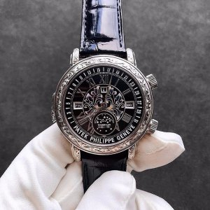 Patek Philippe [2018 NEW][SUPER RARE] Grand Complications Sky Moon Tourbillon 6002G-010 Black Dial