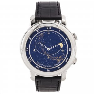 PATEK PHILIPPE [MINT 2007'] Celestial White gold Mens 5102G
