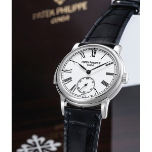 Patek Philippe [MINT 2007'] Minute Repeater White Dial 5078P-001
