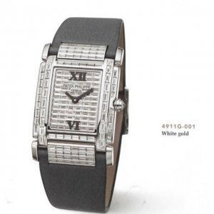 Patek Philippe [NEW] 4911G Twenty-4 Haute Joaillerie White Gold Ladies Watch (Retail:HK$1,335,100)