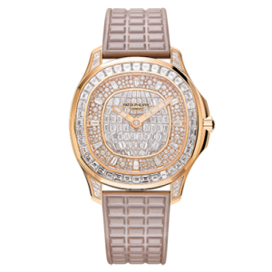 Patek Philippe [NEW] 5062/450R Lady Aquanaut Rose Gold Baguette Diamond Watch
