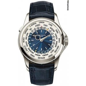 Patek Philippe [NEW] 5130P-020 Complications Automatic GMT Blue Dial