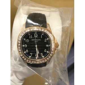 Patek Philippe [NEW] 5167/300R-010 Aquanaut Rose Gold Baguette Diamonds