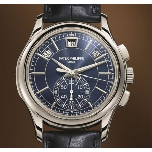 Patek Philippe [NEW] Annual Calendar Chronograph 5905P Blue Dial (Retail:HK$585,600)