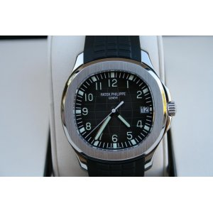 Patek Philippe [NEW] Aquanaut Black Dial Steel Mens 5167A-001 (Retail:HK$131,800)