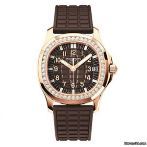 PATEK PHILIPPE [NEW] Aquanaut Luce Rose Gold Diamond Ladies 5068R (Retail:HK$331,000)
