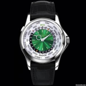Patek Philippe [NEW+LIMITED] 5130P SPECIAL PLATINUM MECCA WORLD EDITION TIMER - SOLD!!