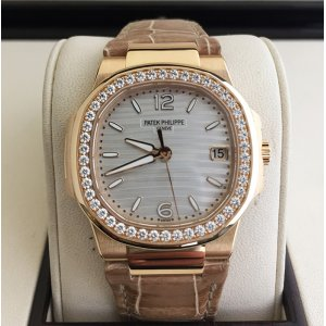 Patek Philippe [NEW] Nautilus Ladies White Dial 7010R-011